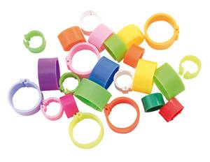 Bagues a clips 18 mm medium