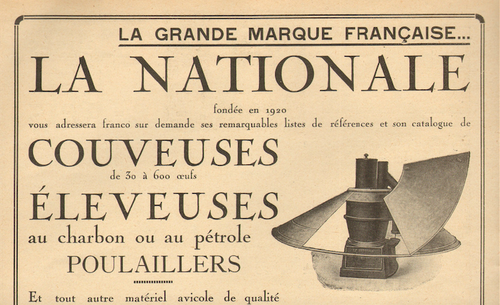 Couveuse La Nationale