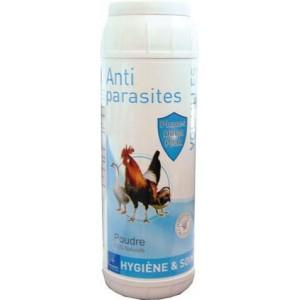 Poudre antiparasitaire volailles