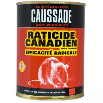 Raticide canadien cereales